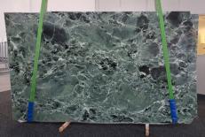 Lieferung polierte Unmaßplatten 2 cm aus Natur Marmor VERDE ALPI GL 1041. Detail Bild Fotos