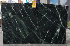 Lieferung polierte Unmaßplatten 2 cm aus Natur Marmor VERDE IMPERIALE UL0120. Detail Bild Fotos