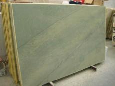 Lieferung polierte Unmaßplatten 2 cm aus Natur Marmor VERDE LAGUNA SR_060717. Detail Bild Fotos