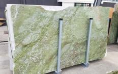 Lieferung polierte Unmaßplatten 2 cm aus Natur Marmor VERDE MING ZL0076. Detail Bild Fotos