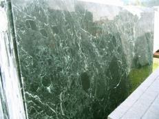 Lieferung polierte Unmaßplatten 2 cm aus Natur Marmor VERDE RAMEGGIATO SRC25122. Detail Bild Fotos