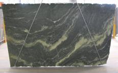 Lieferung gebürstete Unmaßplatten 3 cm aus Natur Gneis VERDITALIA C-16797. Detail Bild Fotos