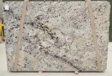 Lieferung polierte Unmaßplatten 2 cm aus Natur Granit WHITE WAVE BQ01435. Detail Bild Fotos