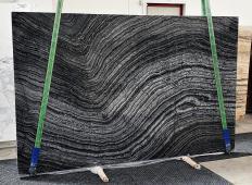 Lieferung polierte Unmaßplatten 2 cm aus Natur Marmor Zebra Black 1387. Detail Bild Fotos