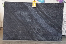 Lieferung polierte Unmaßplatten 2 cm aus Natur Marmor Zebra Black UL0079. Detail Bild Fotos