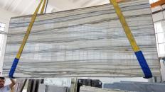 Lieferung polierte Unmaßplatten 2 cm aus Natur Marmor Zebrino LV0135. Detail Bild Fotos