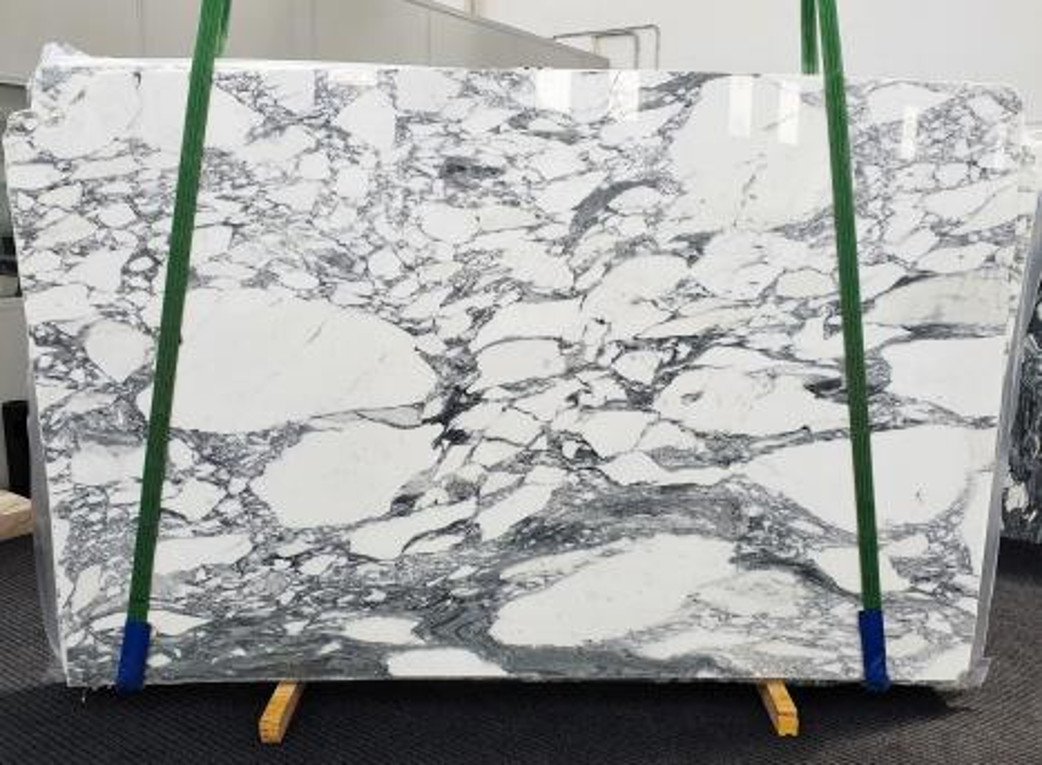 ARABESCATO CORCHIA polierte Unmaßplatten 1433 aus Natur Marmor , Slab #45: Lieferung Veneto, Italien