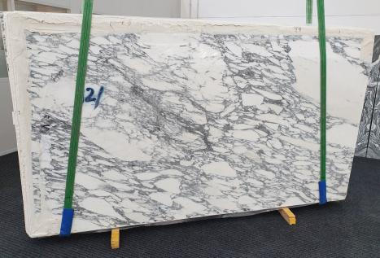 ARABESCATO CORCHIA polierte Unmaßplatten 1420 aus Natur Marmor , Slab #73: Lieferung Veneto, Italien