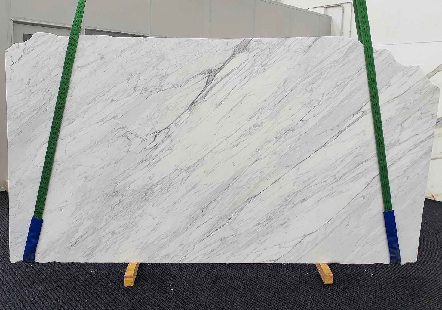 CALACATTA CARRARA geschliffene Unmaßplatten 1313 aus Natur Marmor , Slab #01: Lieferung Veneto, Italien