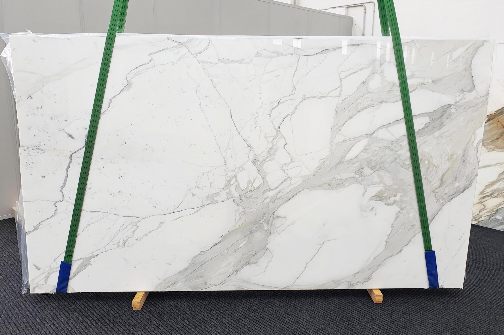 CALACATTA EXTRA polierte Unmaßplatten 1377 aus Natur Marmor , Slab #63: Lieferung Veneto, Italien