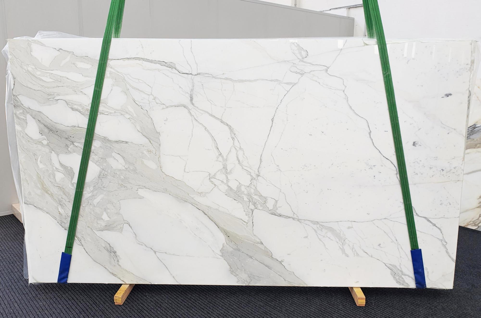 CALACATTA EXTRA polierte Unmaßplatten 1377 aus Natur Marmor , Slab #72: Lieferung Veneto, Italien