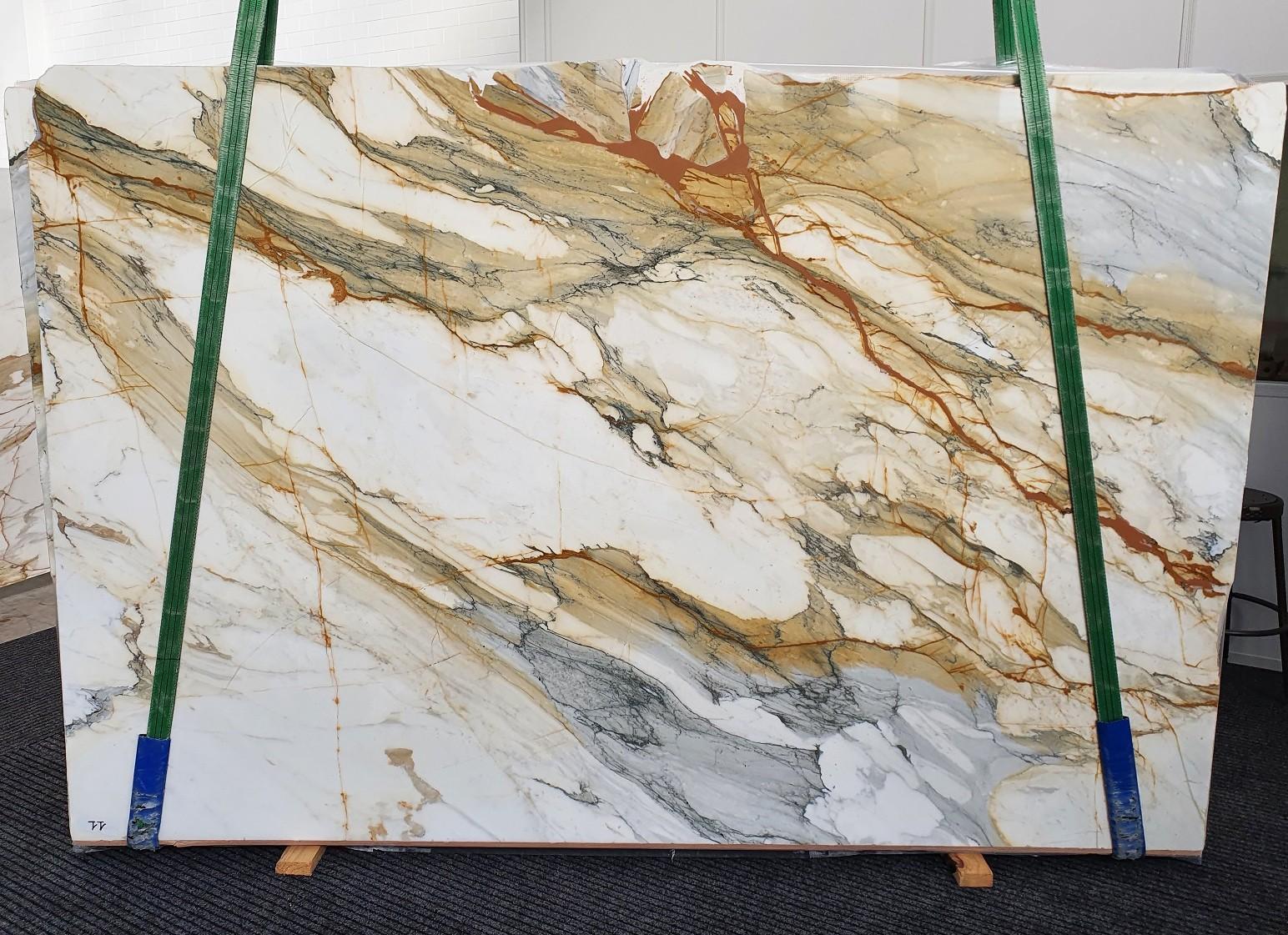 CALACATTA MACCHIAVECCHIA polierte Unmaßplatten 1422 aus Natur Marmor , Slab #11: Lieferung Veneto, Italien