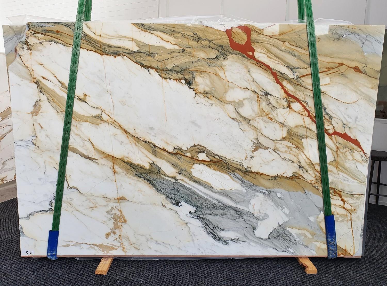 CALACATTA MACCHIAVECCHIA polierte Unmaßplatten 1422 aus Natur Marmor , Slab #19: Lieferung Veneto, Italien