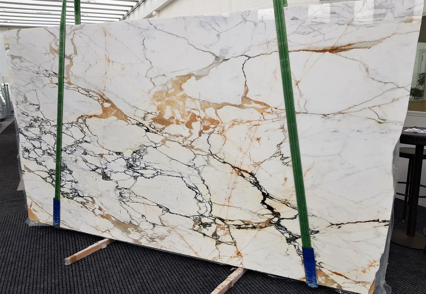 CALACATTA MACCHIAVECCHIA polierte Unmaßplatten GL 1131 aus Natur Marmor , Bundle #1: Lieferung, Italien