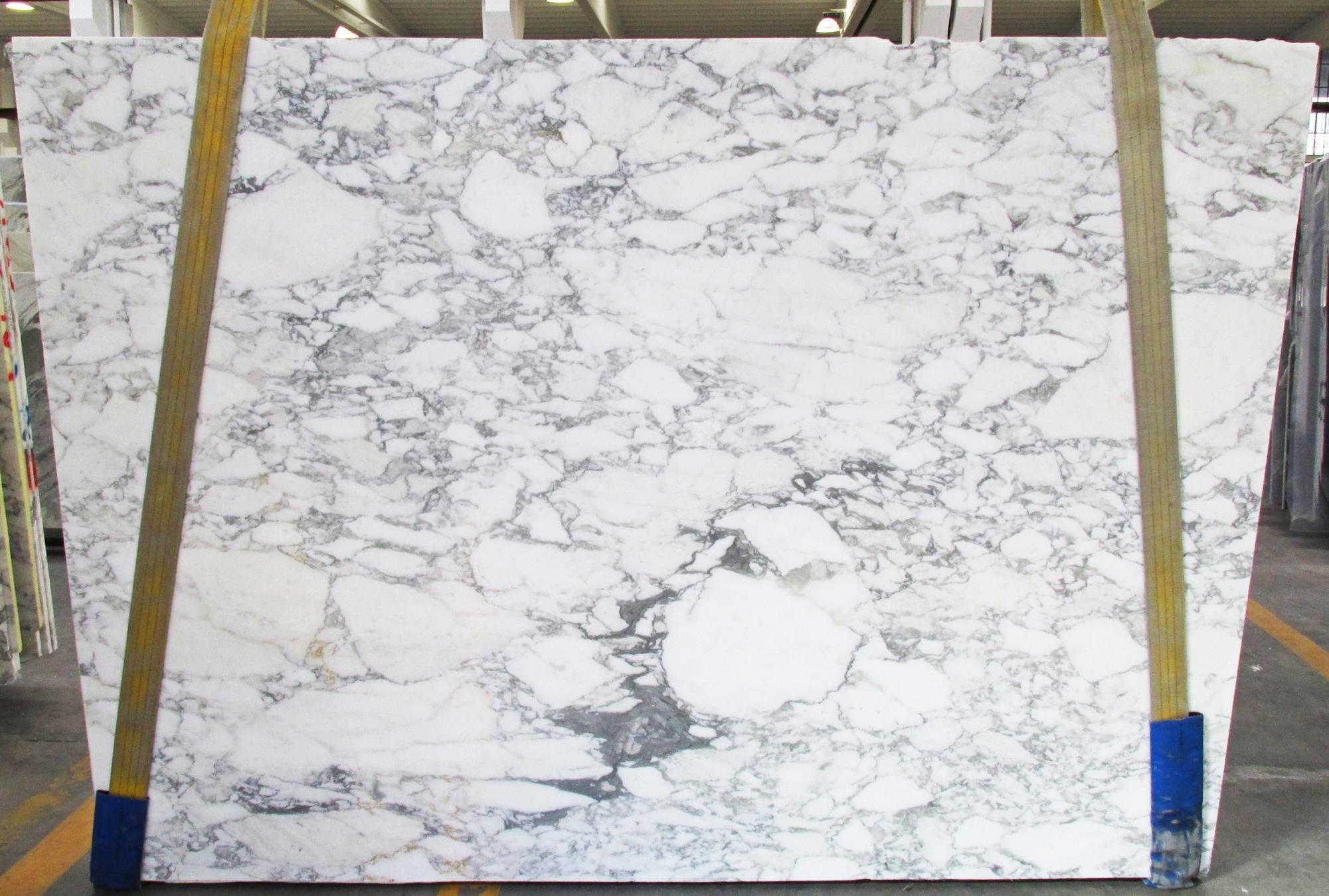 CALACATTA VAGLI geschliffene Unmaßplatten 1230M aus Natur Marmor , SL2CM: Lieferung Veneto, Italien