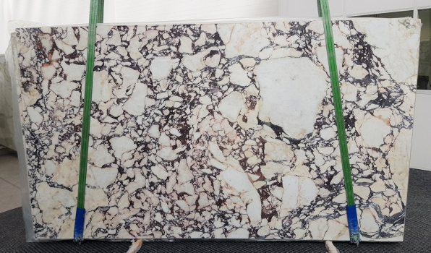 CALACATTA VIOLA polierte Unmaßplatten #1106 aus Natur Marmor , Bundle #1: Lieferung Veneto, Italien