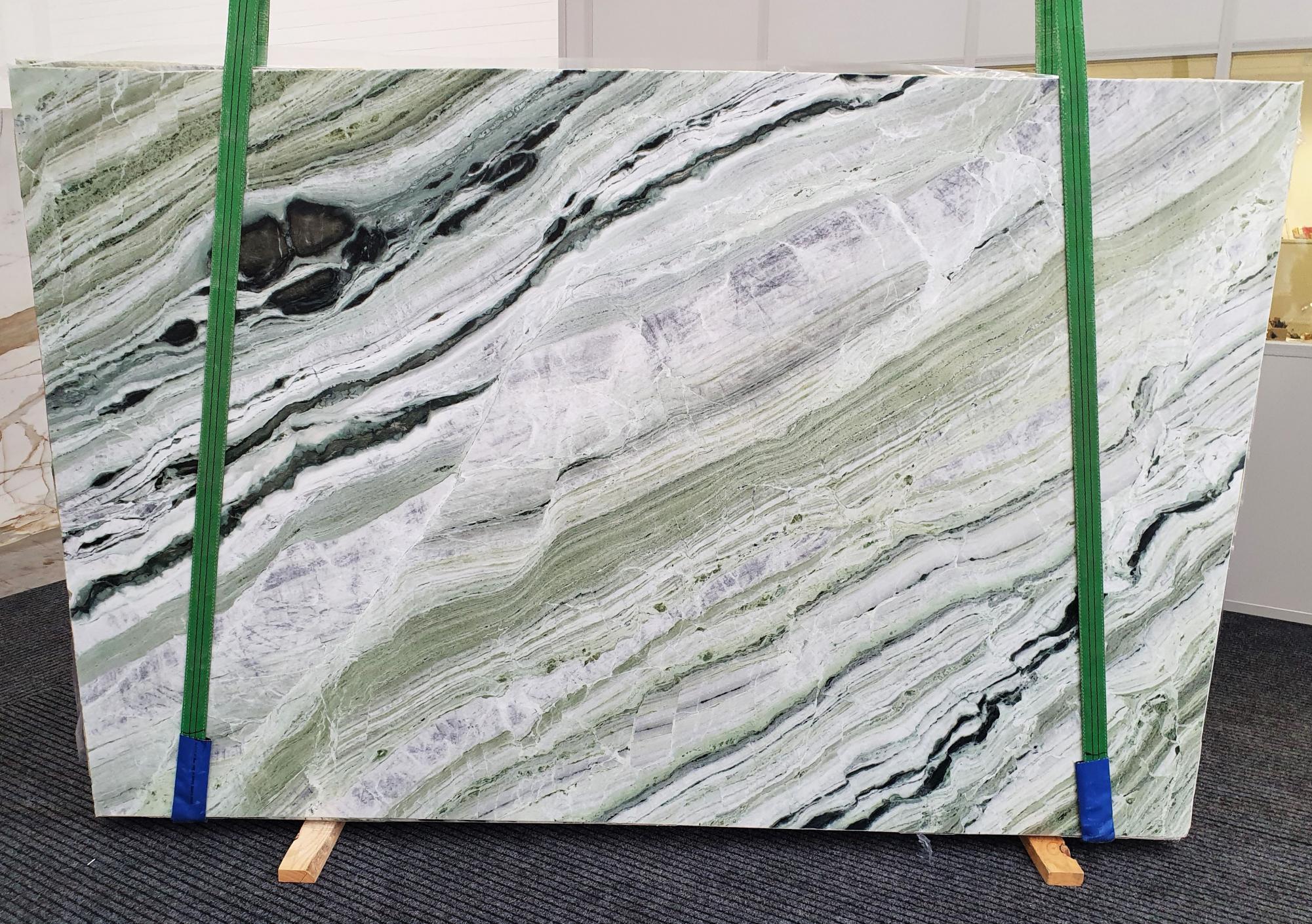 GREEN BEAUTY polierte Unmaßplatten 1452 aus Natur Marmor , Slab #20: Lieferung Veneto, Italien