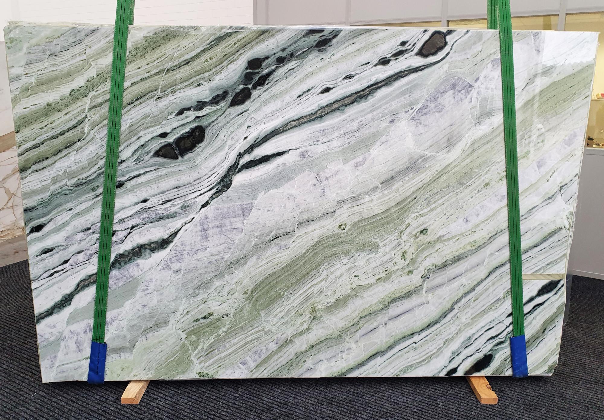 GREEN BEAUTY polierte Unmaßplatten 1452 aus Natur Marmor , Slab #30: Lieferung Veneto, Italien