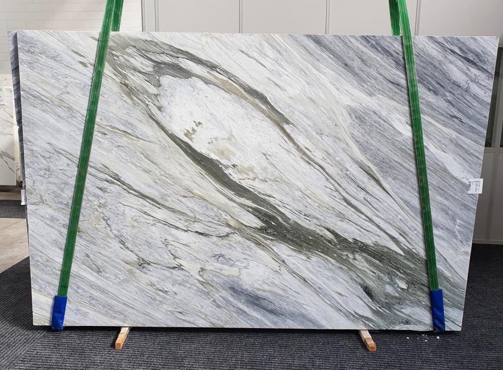 Manhattan Grey polierte Unmaßplatten 1357 aus Natur Marmor , Slab #34: Lieferung Veneto, Italien