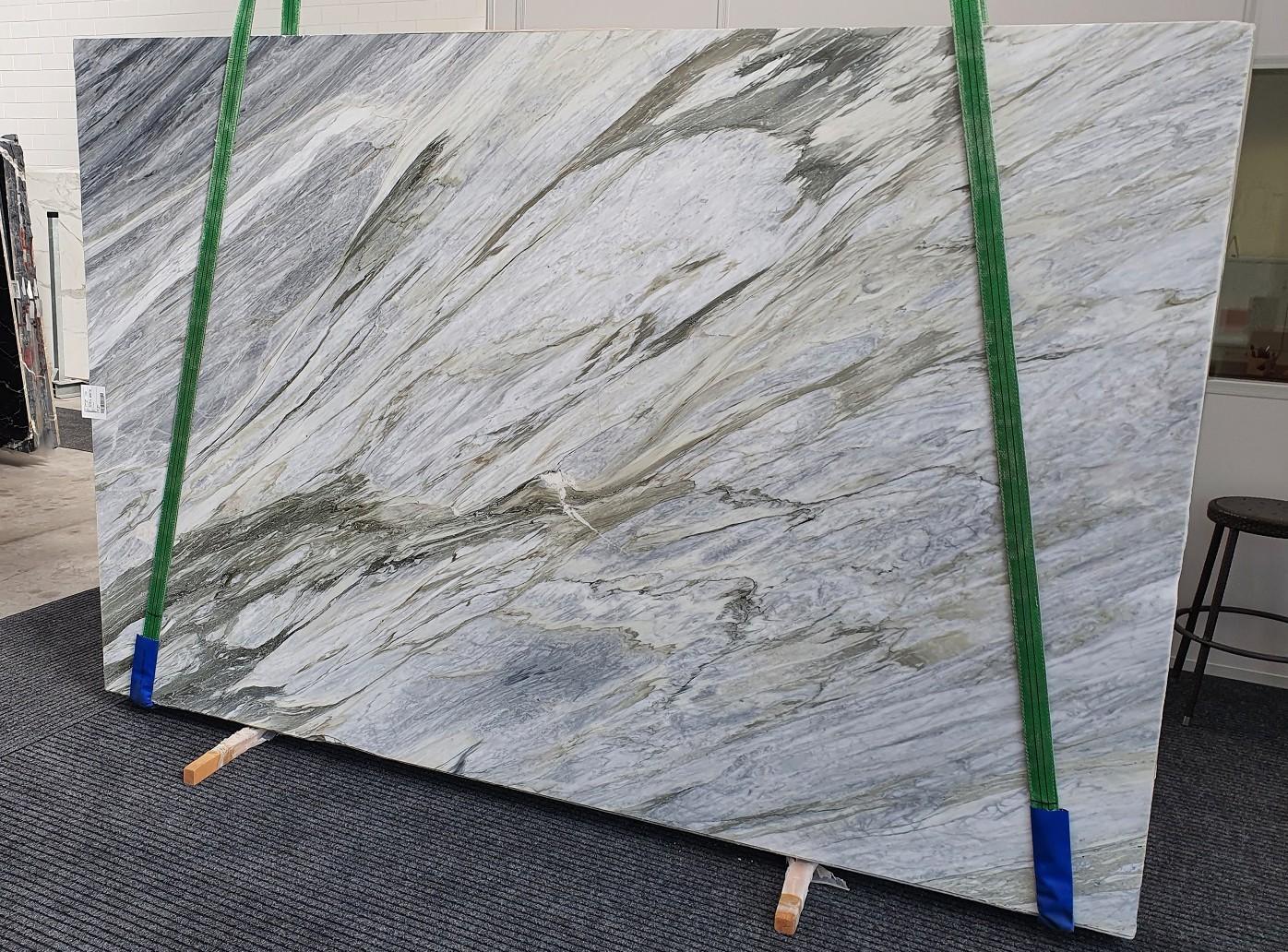 Manhattan Grey polierte Unmaßplatten 1357 aus Natur Marmor , Slab #43: Lieferung Veneto, Italien