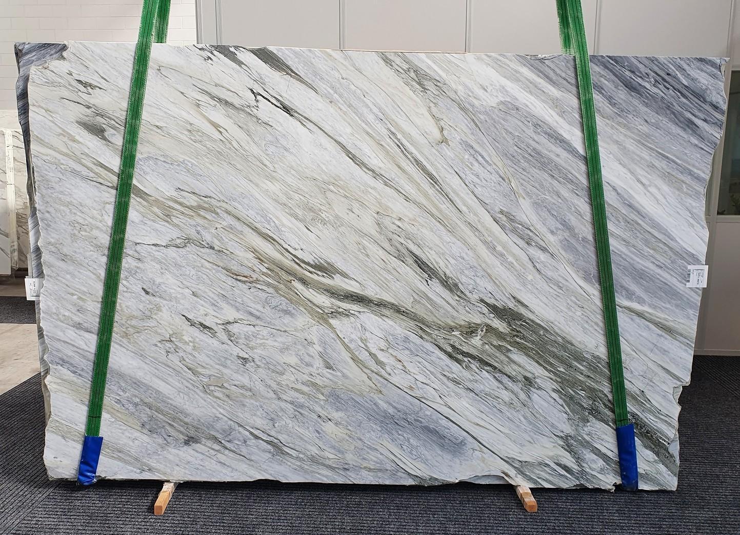 Manhattan Grey polierte Unmaßplatten 1357 aus Natur Marmor , Slab #52: Lieferung Veneto, Italien