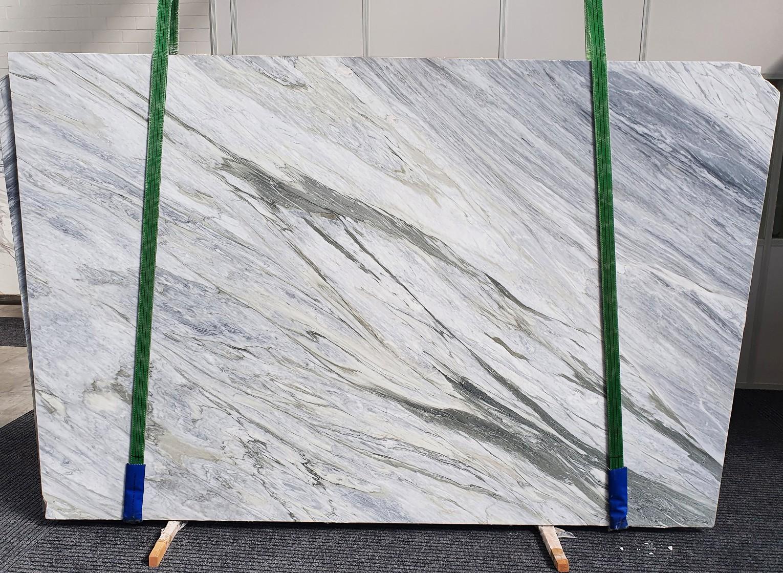MANHATTAN GREY geschliffene Unmaßplatten 1357 aus Natur Marmor , Slab #08: Lieferung Veneto, Italien