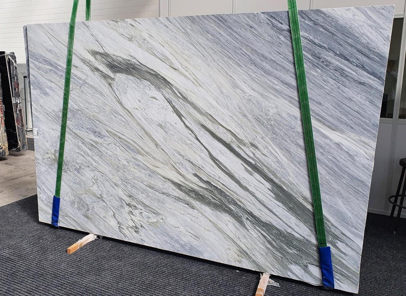 MANHATTAN GREY geschliffene Unmaßplatten 1357 aus Natur Marmor , Slab #16: Lieferung Veneto, Italien
