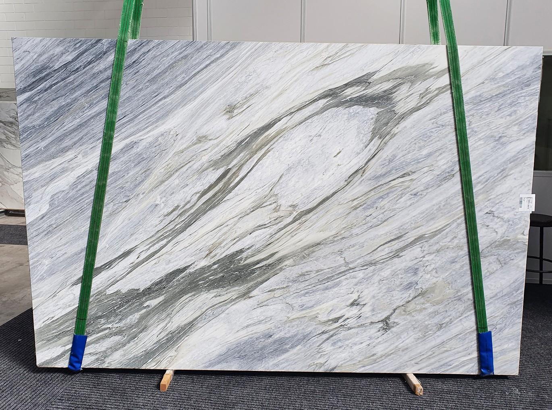 MANHATTAN GREY geschliffene Unmaßplatten 1357 aus Natur Marmor , Slab #25: Lieferung Veneto, Italien