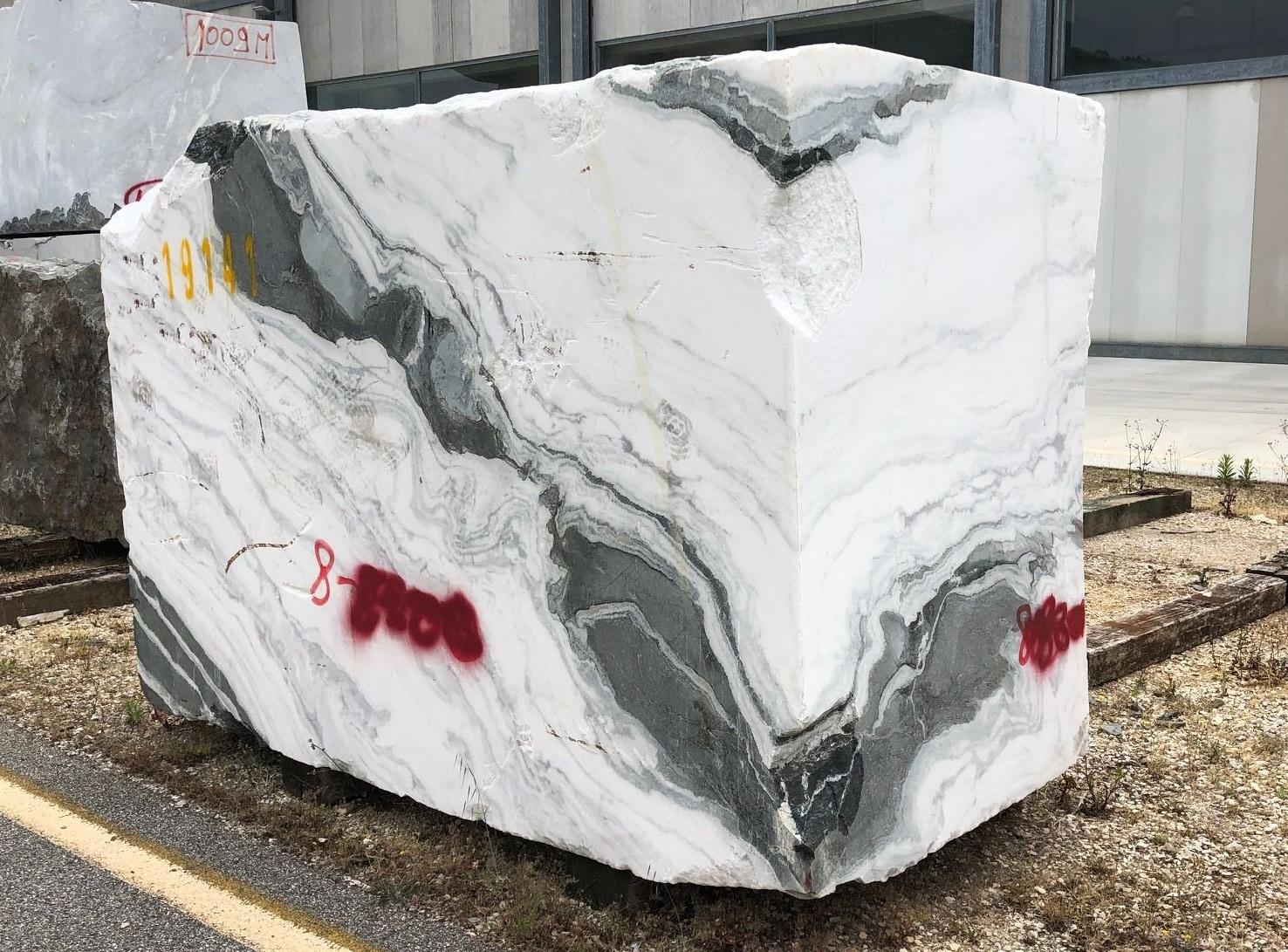 PANDA rohe Blöcke 1517M aus Natur Marmor: Lieferung, Italien