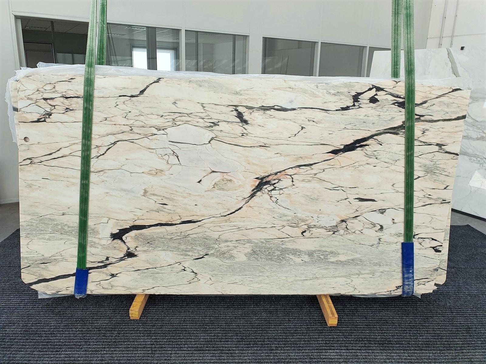 STATUARIO CORAL polierte Unmaßplatten 1328 aus Natur Marmor , Bundle #01: Lieferung Veneto, Italien