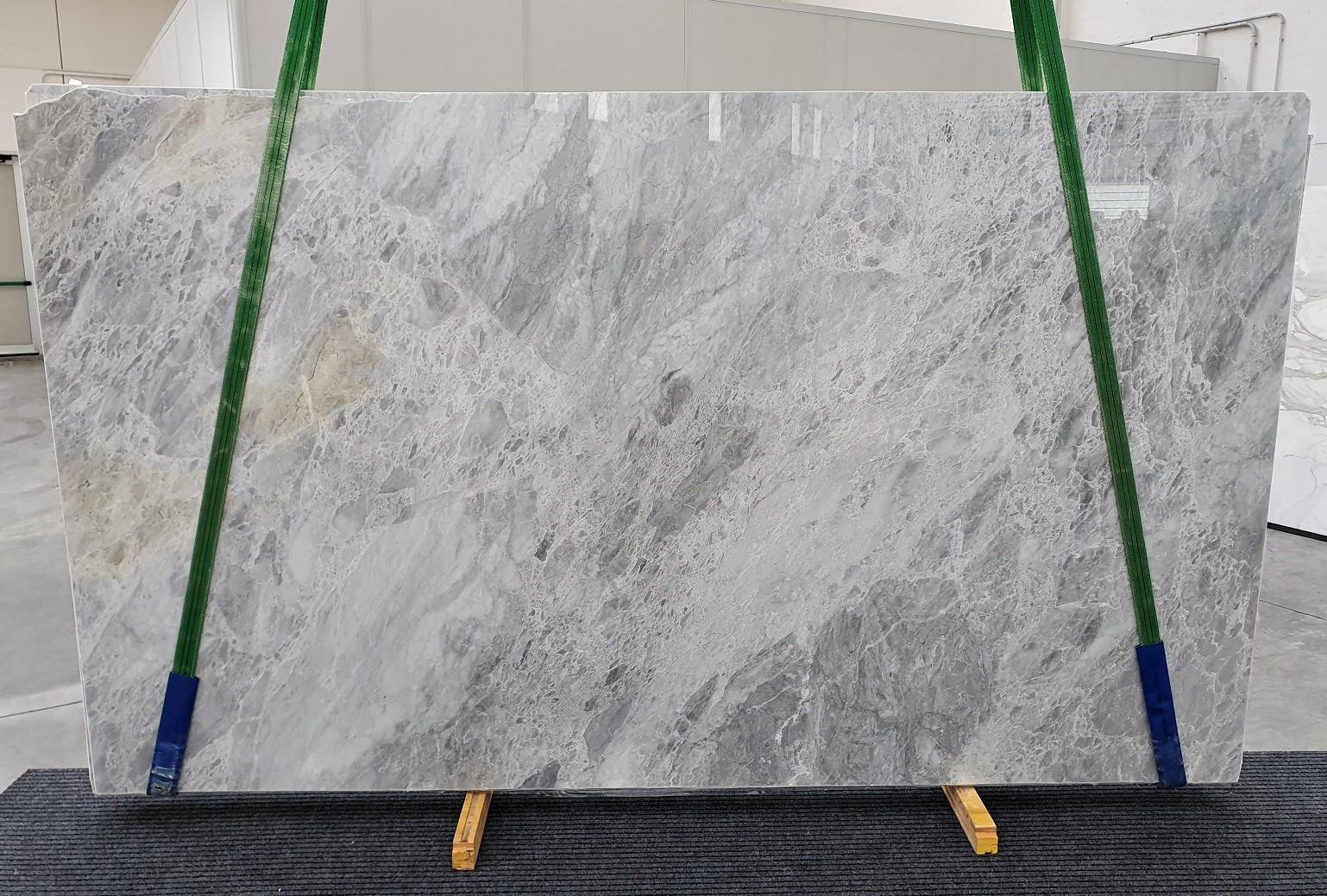 TRAMBISERA polierte Unmaßplatten 1293 aus Natur Marmor , Slab #08: Lieferung Veneto, Italien