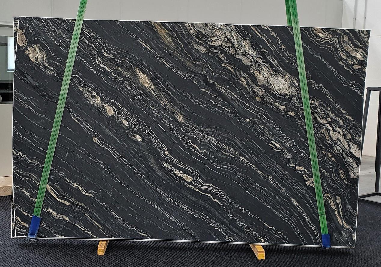 TROPICAL STORM geschliffene Unmaßplatten 1364 aus Natur Quarzit , Slab #23: Lieferung Veneto, Italien