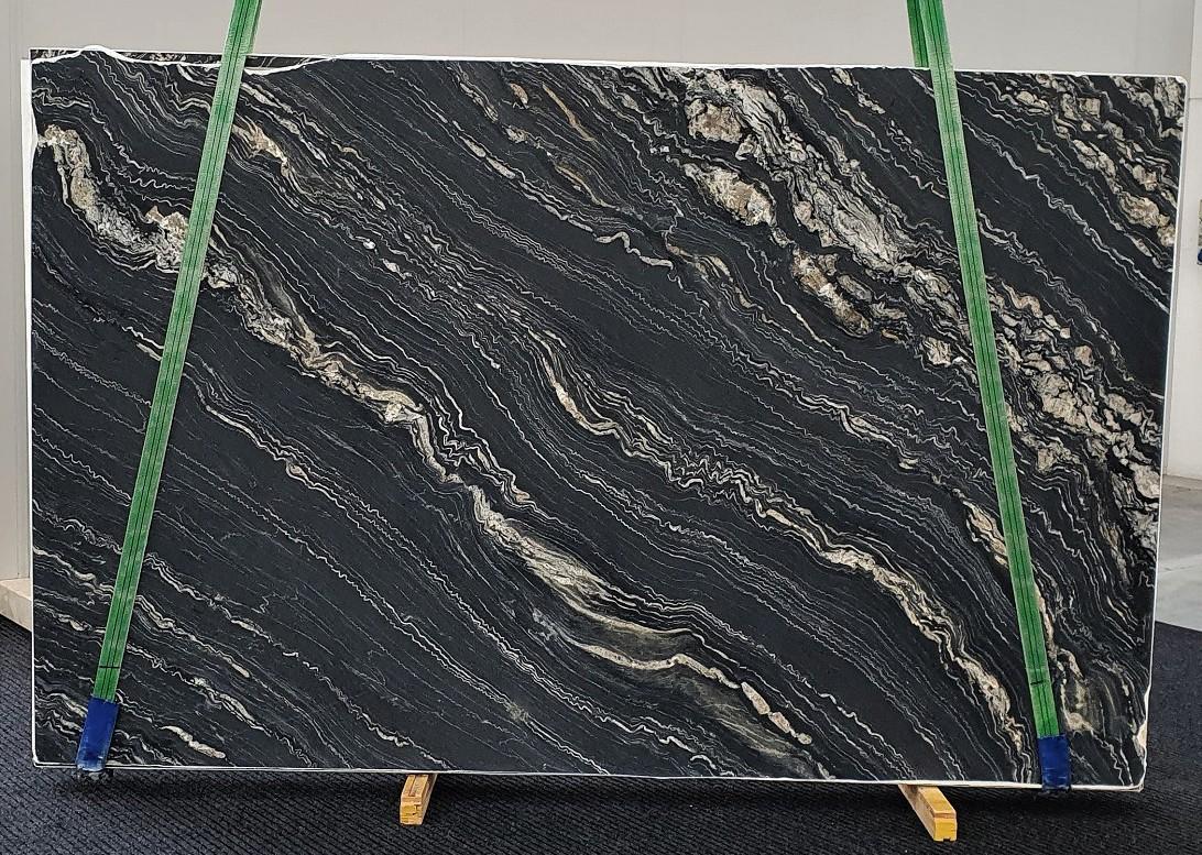 TROPICAL STORM geschliffene Unmaßplatten 1364 aus Natur Quarzit , Slab #43: Lieferung Veneto, Italien