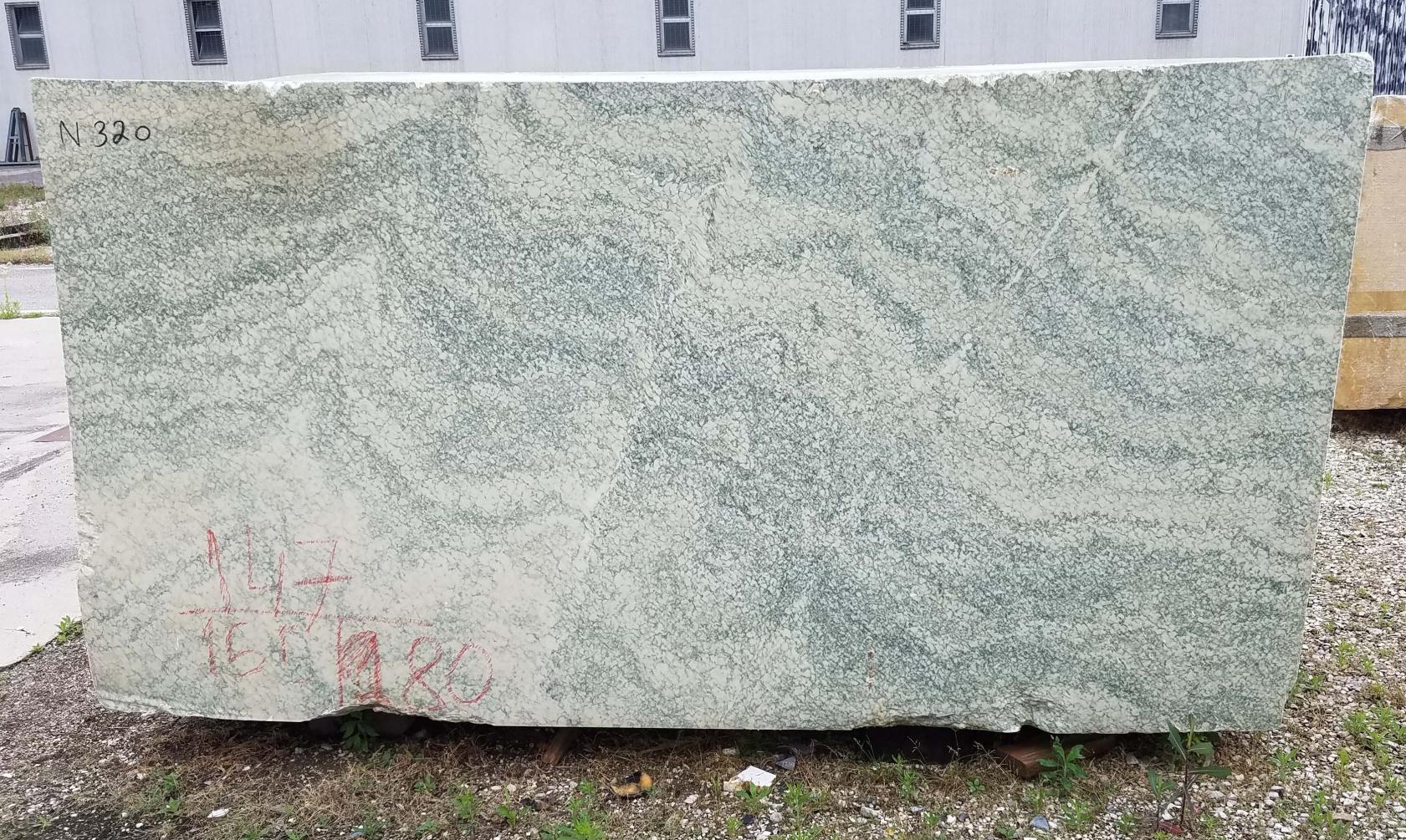 Vert d'Estours rohe Blöcke N320 aus Natur Marmor , Face A: Lieferung Veneto, Italien
