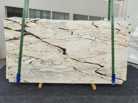 STATUARIO CORAL 10 polierte Unmaßplatten Portugiesischer Marmor Bundle #01,  270 x 145 x 2 cm  (verfügbar Veneto, Italien) Natur Stein
