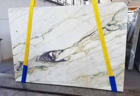 CALACATTA FIORITOgesägte Unmaßplatt Italienischer Marmor Slab #08,  270 x 185 x 2 cm  (verfügbar Veneto, Italien) Natur Stein