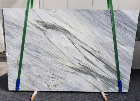 MANHATTAN GREYgeschliffene Unmaßplatt Italienischer Marmor Slab #16,  305 x 202 x 2 cm  (verfügbar Veneto, Italien) Natur Stein