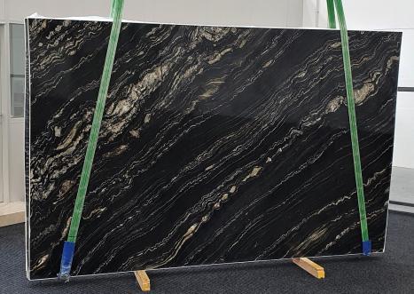 TROPICAL STORMpolierte Unmaßplatt Namibia Quarzit Slab #02,  310 x 198 x 3 cm  (verfügbar Veneto, Italien) Natur Stein
