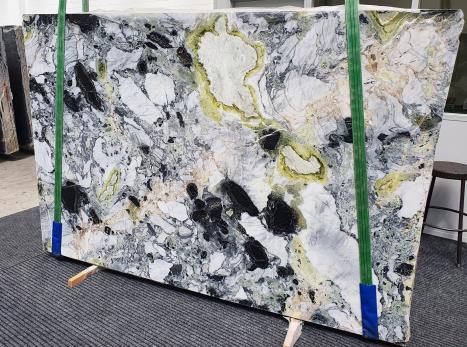 AMAZONIApolierte Unmaßplatt Chinesischer Marmor Slab #13,  260 x 180 x 2 cm  (nicht Verfübare Veneto, Italien) Natur Stein