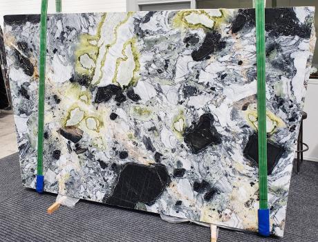 AMAZONIApolierte Unmaßplatt Chinesischer Marmor Slab #24,  260 x 180 x 2 cm  (nicht Verfübare Veneto, Italien) Natur Stein