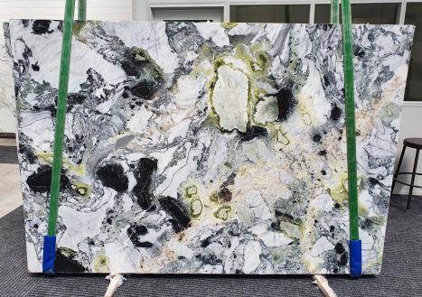 AMAZONIApolierte Unmaßplatt Chinesischer Marmor Slab #31,  260 x 180 x 2 cm  (nicht Verfübare Veneto, Italien) Natur Stein