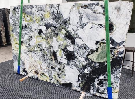 AMAZONIApolierte Unmaßplatt Chinesischer Marmor Slab #48,  260 x 180 x 2 cm  (nicht Verfübare Veneto, Italien) Natur Stein