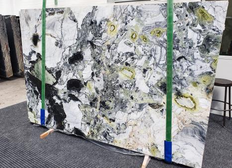 AMAZONIApolierte Unmaßplatt Chinesischer Marmor Slab #49,  260 x 180 x 2 cm  (nicht Verfübare Veneto, Italien) Natur Stein