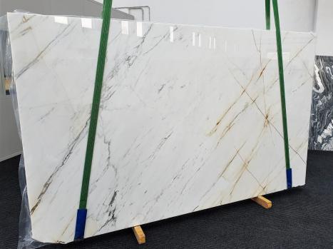 PAONAZZOpolierte Unmaßplatt Italienischer Marmor Slab #16,  320 x 193 x 2 cm  (verfügbar Veneto, Italien) Natur Stein