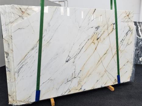 PAONAZZOpolierte Unmaßplatt Italienischer Marmor Slab #40,  320 x 193 x 2 cm  (verfügbar Veneto, Italien) Natur Stein