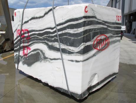 PANDA 1 rohe Rohe Block Chinesischer Marmor Face B,  260 x 184 x 190 cm  (verfügbar Veneto, Italien) Natur Stein
