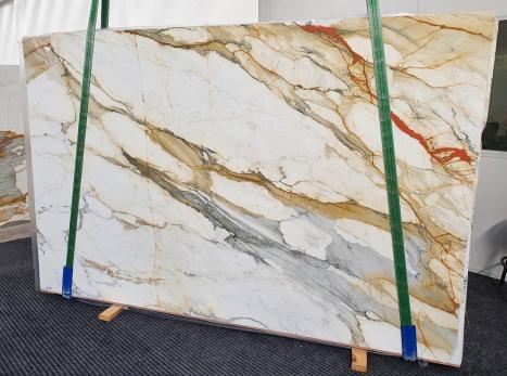 CALACATTA MACCHIAVECCHIApolierte Unmaßplatt Italienischer Marmor Slab #27,  300 x 195 x 2 cm  (verfügbar Veneto, Italien) Natur Stein