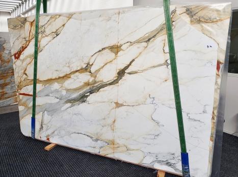 CALACATTA MACCHIAVECCHIApolierte Unmaßplatt Italienischer Marmor Slab #34,  300 x 195 x 2 cm  (verfügbar Veneto, Italien) Natur Stein