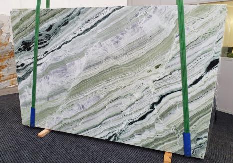 GREEN BEAUTYpolierte Unmaßplatt Chinesischer Marmor Slab #10,  280 x 180 x 2 cm  (verfügbar Veneto, Italien) Natur Stein