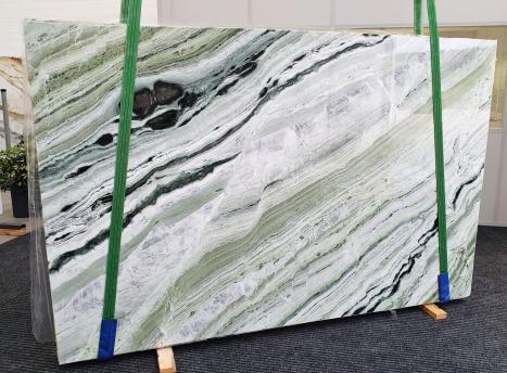 GREEN BEAUTYpolierte Unmaßplatt Chinesischer Marmor Slab #20,  280 x 180 x 2 cm  (verfügbar Veneto, Italien) Natur Stein